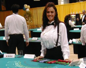 Casino Dealer School.