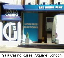 Gala casino in queensway