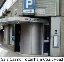 gala casino london tottenham court road