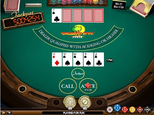 casino online slot machines caribbean stud