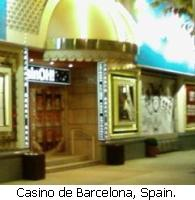 Casino de Barcelona, Spain.