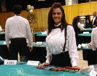 School casino dealer