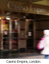 Casino empire london