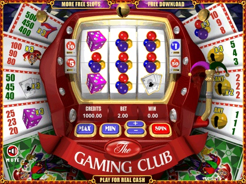 online casino test game slots