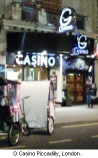 Land-based London Casinos, UK, A to K