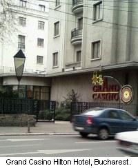 Athenee Palace Hilton Bucharest Hotel and Grand Casino, Romania.