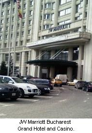 JW Marriott Bucharest Grand Hotel and Casino, Romania.