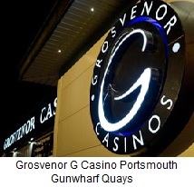 Grosvenor casino gunwharf opening hours