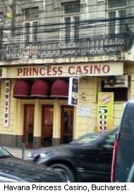Havana Princess Casino, Bucharest, Romania.