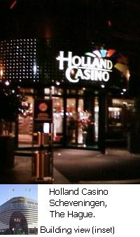 Holland Casino Scheveningen, The Hague, Netherlands.