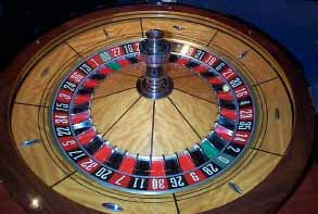 pictures of double zero roulette wheel in big